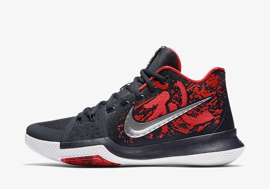 "Nike Releases Kyrie 3 ""Samurai"" On Christmas"