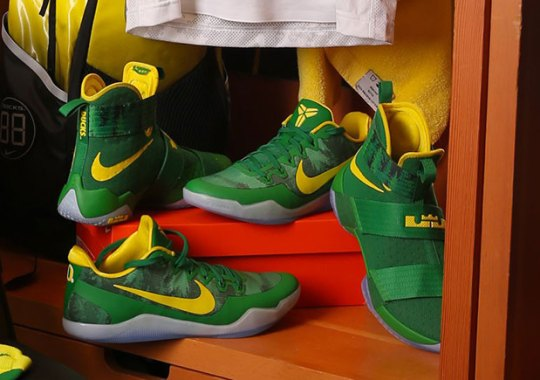 Oregon Womens Basketball Team To Sport Nike LeBron And Kobe PEs Against Washington
