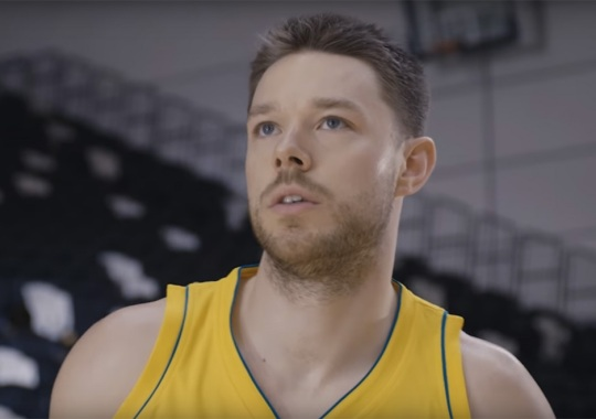 Matthew Dellavedova's Really Awkward Shoe Commercial Is Finally Here