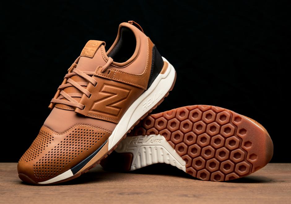 new balance 247 brown tan