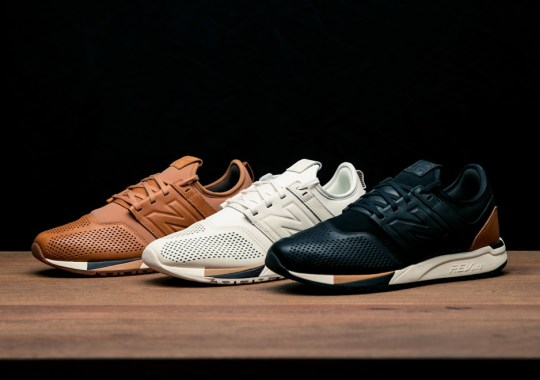 New Balance Debuts New Premium Lifestyle Sneaker, The 247 Luxe
