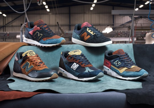 "New Balance MiUK ""Yard Pack"" Features The Colors Of A Rooster On Multiple Models"