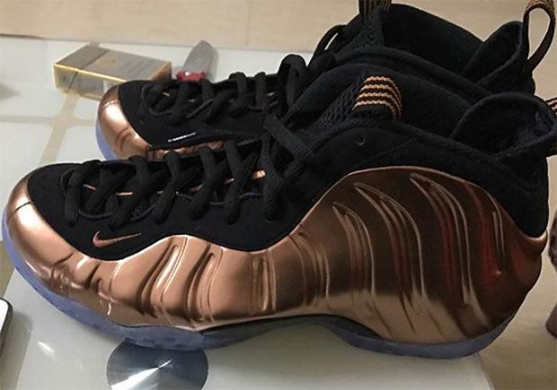 "c099bfdb975 Nike Air Foamposite One ""Copper"" Releasing In 2017"