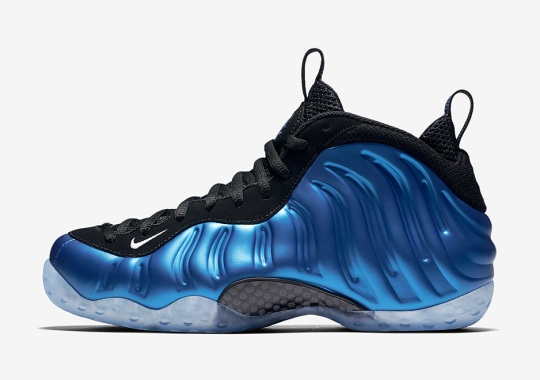"Nike Air Foamposite One XX ""Royal"" Releases Next Month"
