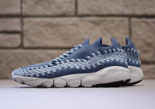 """Nike Air Footscape Woven """"Smoky Blue"""""""