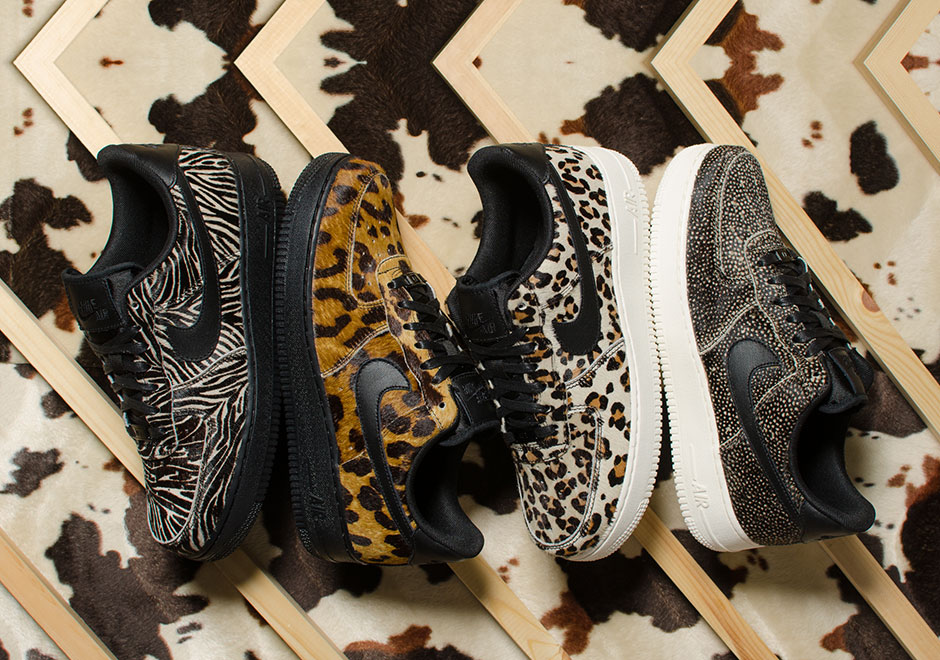 on sale 933af 5d7c4 Nike Air Force 1 Low Animal Print Pack   SneakerNews.com