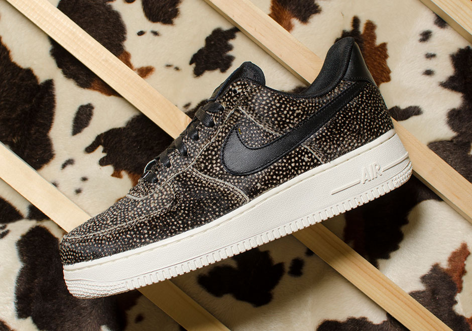 best cheap 61291 7815e ... Pony Hair Pack Women (Black NikeLab WMNS Air Force 1 LX ...