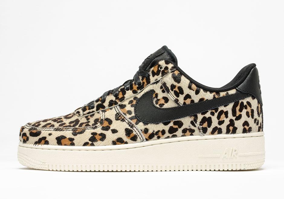 leopard print air force 1