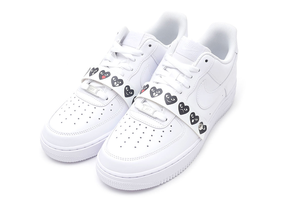 "... x Nike Air Force 1 Low - First Look - A Detailed Look At The COMME des  GARCONS ""Emoji"" Air Force 1s ..."