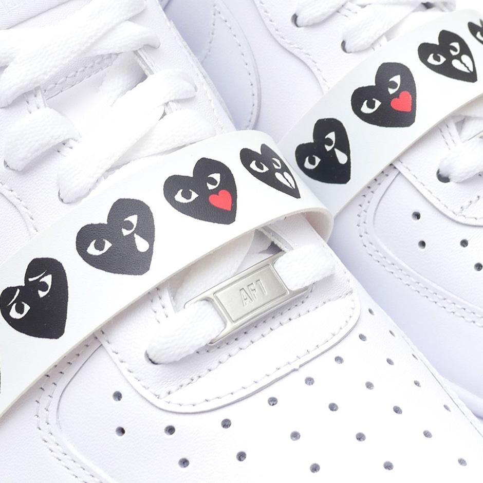 site réputé ea66c dc6f3 Comme des Garcons Air Force 1 Emoji Sneakers   SneakerNews.com