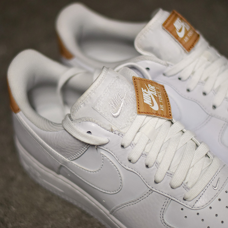 nouvelle collection 378aa 6a543 Nike Air Force 1 Low Vachetta Tan Patch | SneakerNews.com