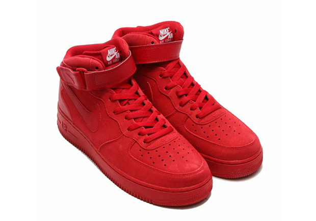 "e152db2bc0c Nike Air Force 1 Mid ""Red October"". Color  Gym ..."