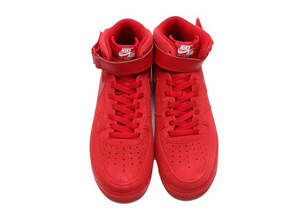 on sale cb5ca 33758 Nike Air Force 1 Mid Red October 315123-609   SneakerNews.com
