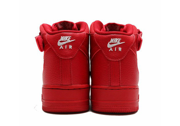 Nike Air Force 1 Mid Red October 315123-609 | SneakerNews.com