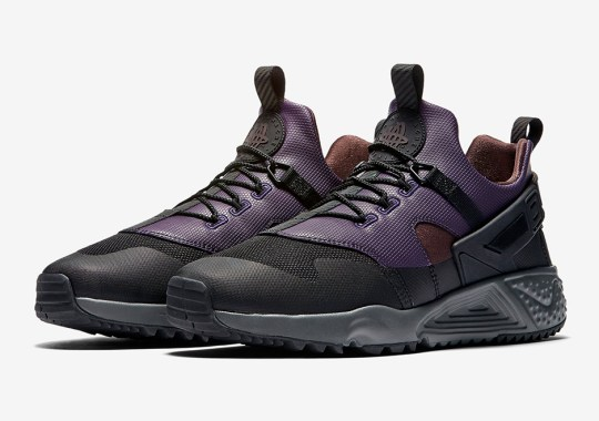 The Nike Huarache Utility Releases With ACG Tones