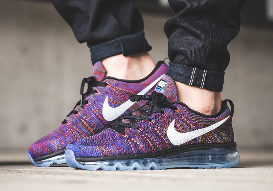 nike air max flyknit purple