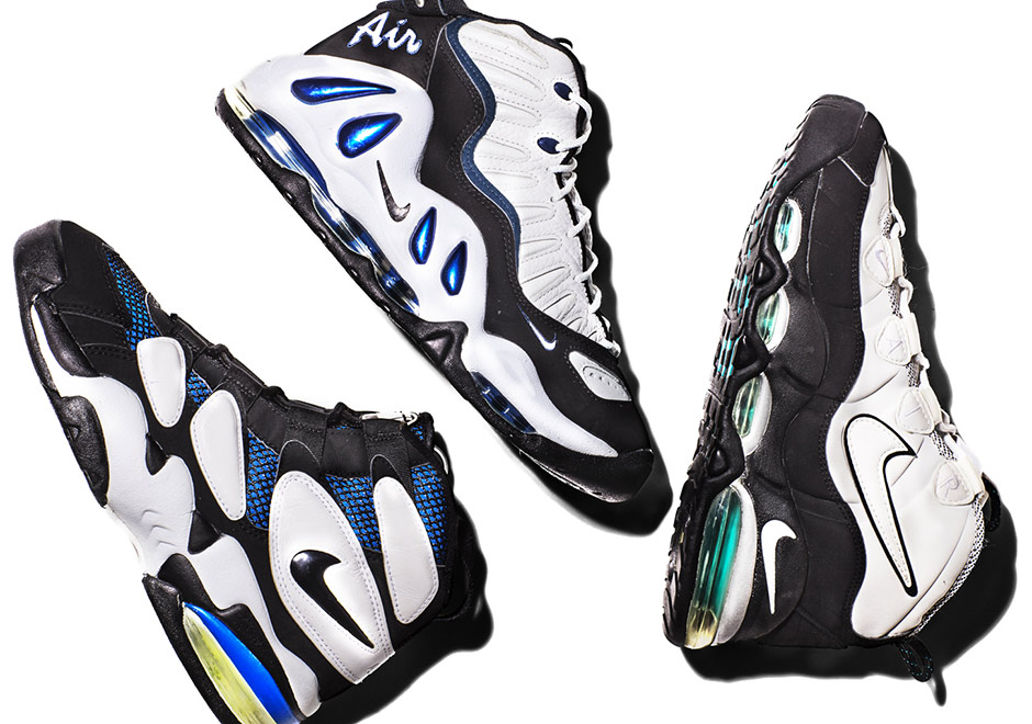 nike air max uptempo history alive
