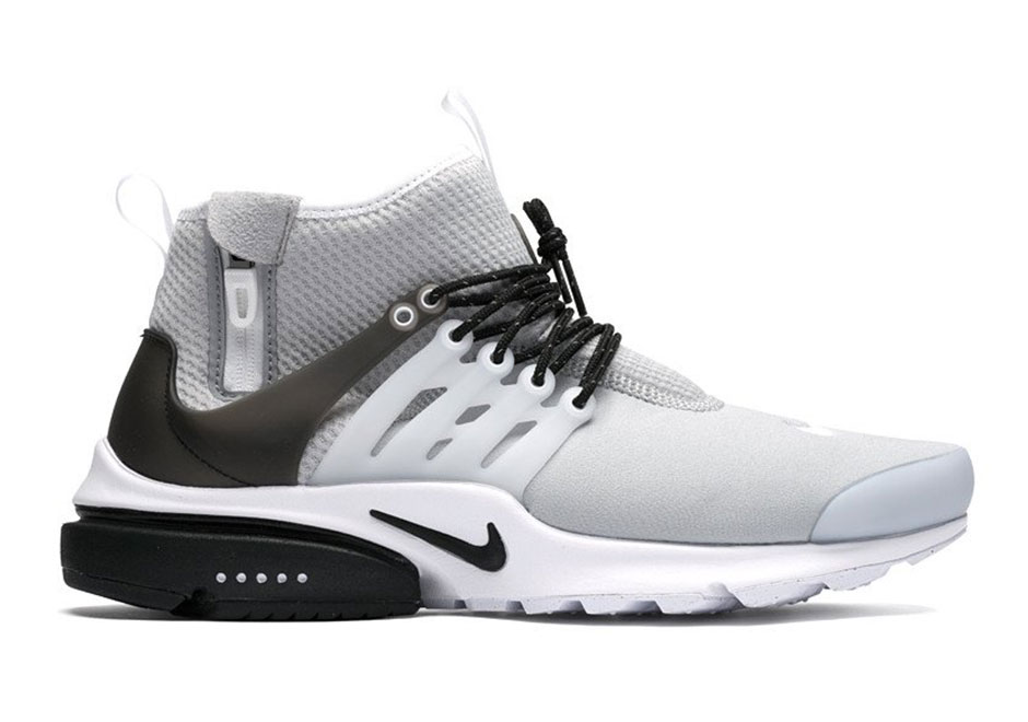 newest collection e723b 92b93 The Nike Air Presto Mid Utility Is Back In Wolf Grey