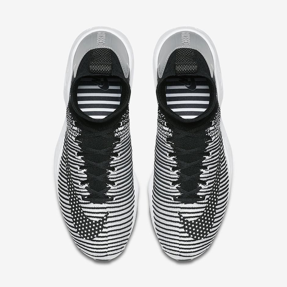 Nike Zoom Mercurial Flyknit IX Black White 852616-002  33f88743e
