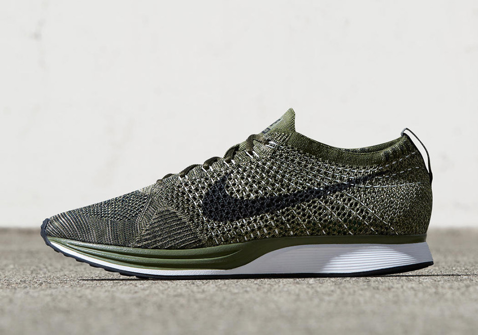 on sale 5d480 4a14b Nike Flyknit Racer Earth Tones 862713-300  SneakerNews.com