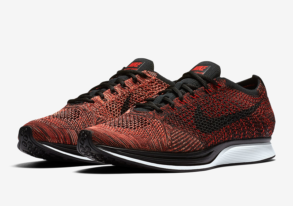17f0dfec1b77 Nike Flyknit Racer 526628-608 Release Info