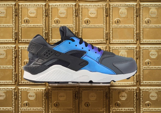 Nike Releases The Air Huarache With Iridescent Uppers