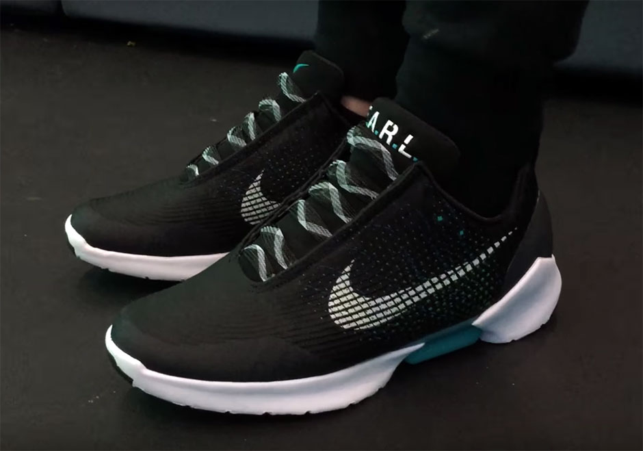 Nike Self Lacing Shoes Youtube