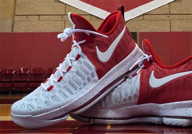 31234f1bad5e Nike KD 9 Oklahoma Sooners PE
