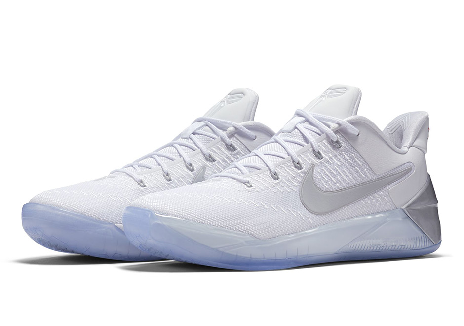 Kobe All White Shoes