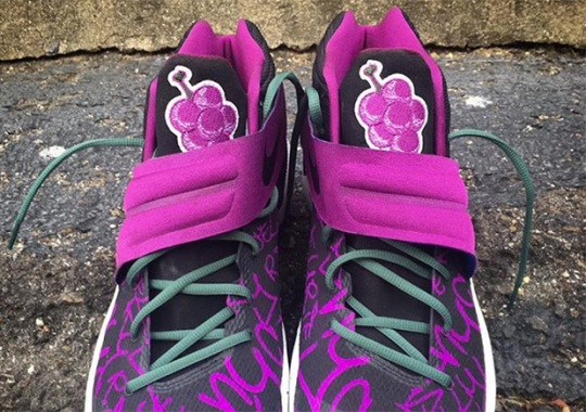 "Kyrie Irving and Mache Team Up For This Nike Kyrie 2 ""Just Jelly"" Custom"