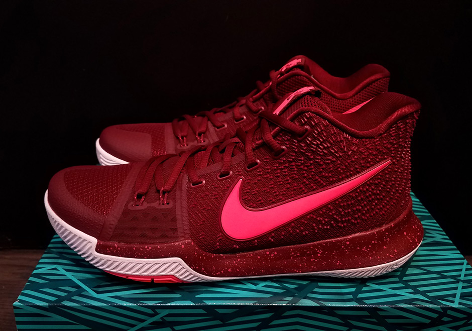 new arrival f0d29 f0eff Nike Kyrie 3 Hot Punch Release Date 852395-681 | SneakerNews.com