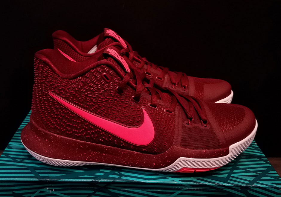 Nike Kyrie 3 All Red Released New Style