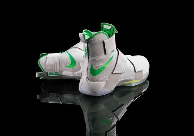 338d5285f0f Nike LeBron Soldier 10 Oregon Ducks PE