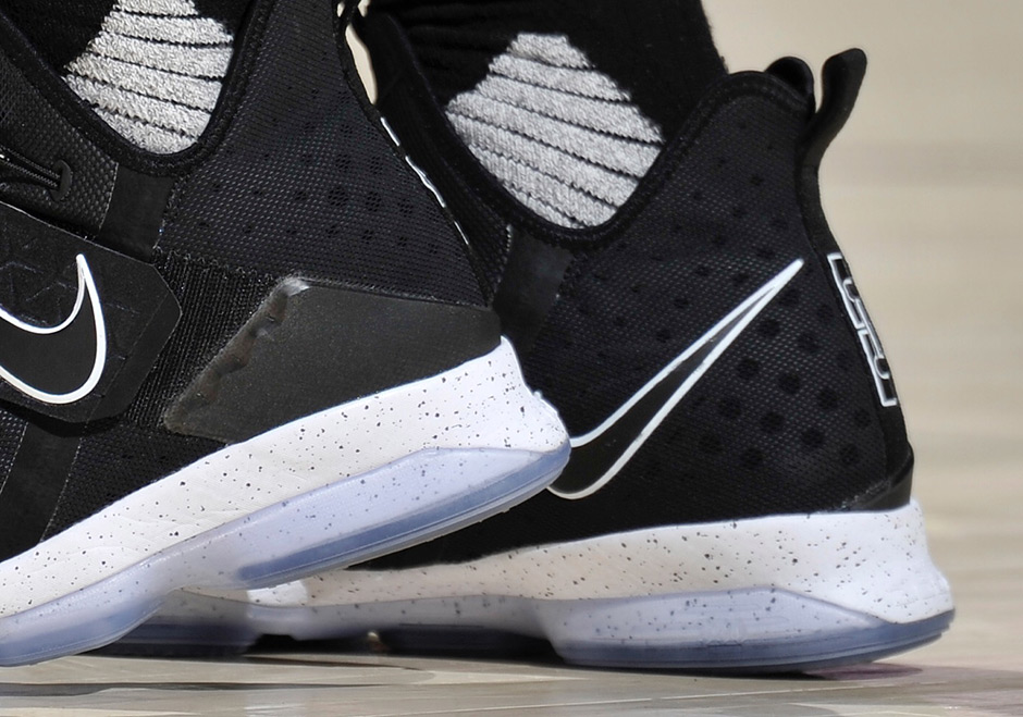 "Nike LeBron 14 ""Black Ice"" Releases On January 28th"