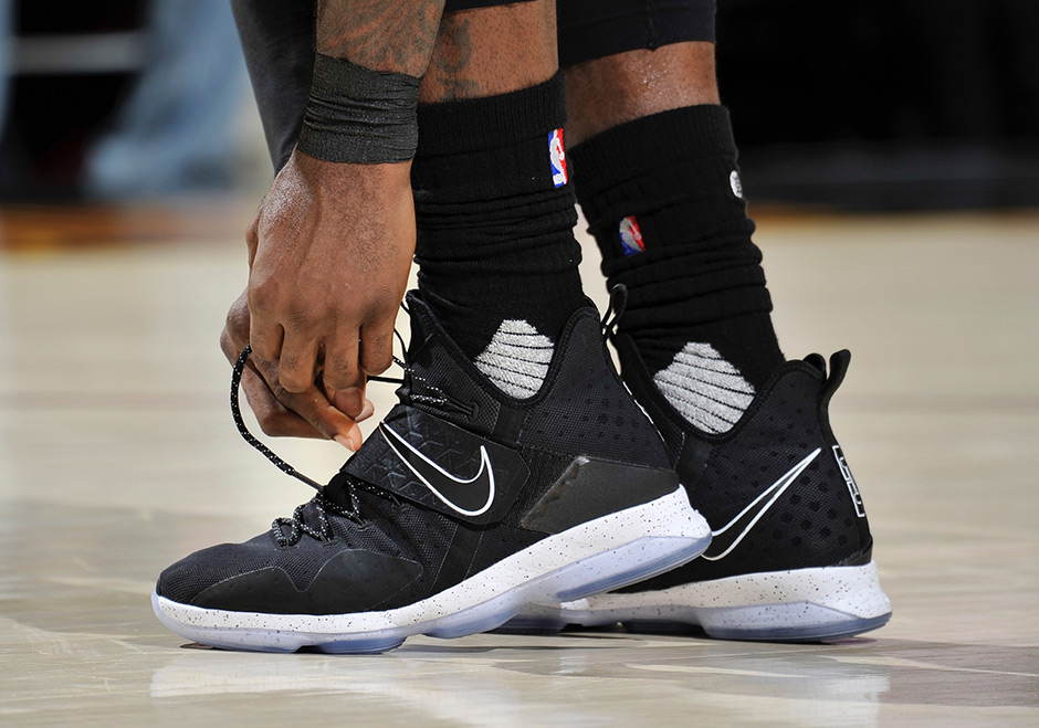 Image result for lebron 14 on court