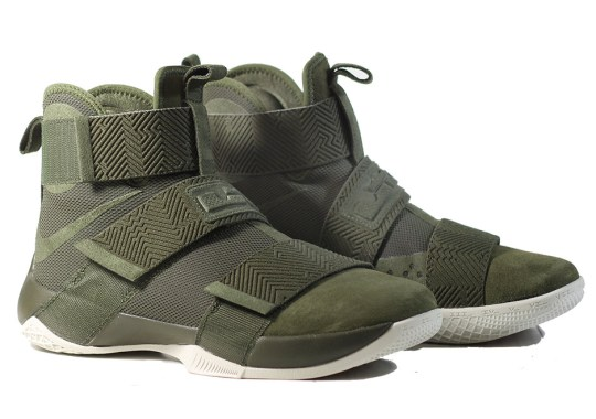 A Lux Version Of The Nike LeBron Soldier 10 Is Here