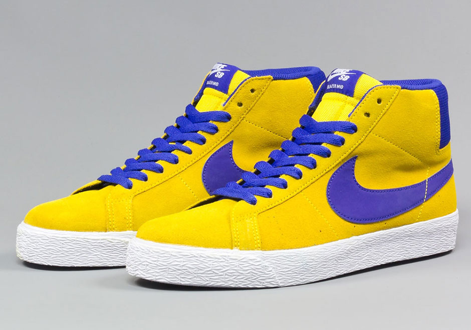 "Nike SB Blazer Mid ""Tour Yellow"""