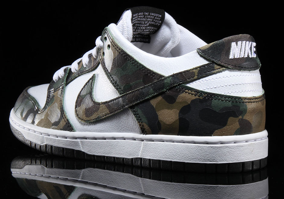 Nike Dunk Sb Lav Camo Legion Grønn qeMTYSK