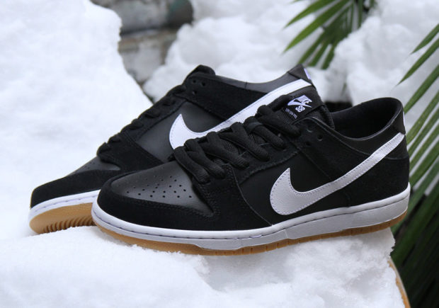 The Nike SB Dunk Low Pro Is Back In A Classic Combination Of Black/Gum