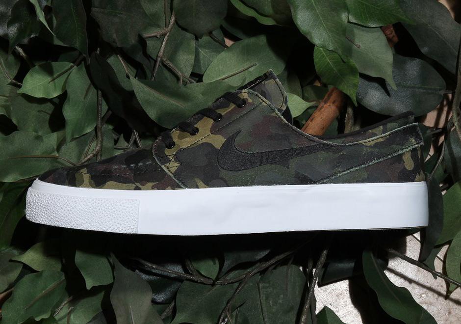 a724e0b9792eb Nike SB Janoski Camo 854321-101 | SneakerNews.com