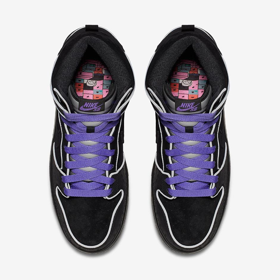 buy online 68c48 111c6 Nike SB Dunk High Purple Box 2016 Release Date | SneakerNews.com