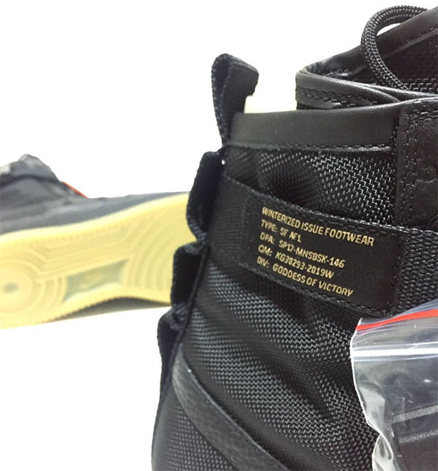 77657baec31308 Nike SF AF1 Black Gum 864024-001 Coming Soon