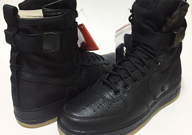 air force sf 1 black