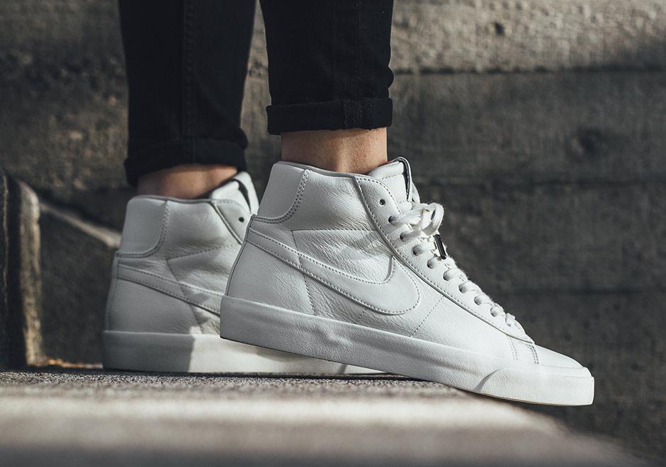 buy online 3d244 839e0 NikeLab Blazer Mid Studio 904805-200 | SneakerNews.com