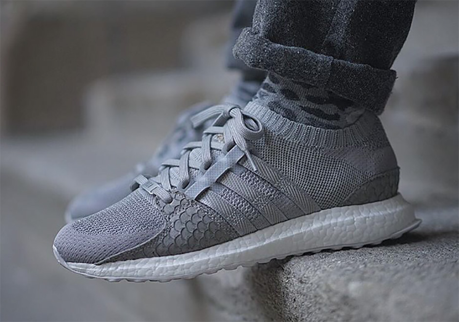 detailed look 5a928 4c6a1 Pusha T adidas Ultra Boost EQT Rescheduled | SneakerNews.com