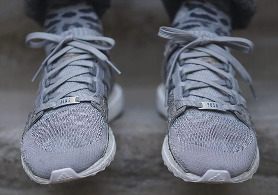 factory authentic e6a57 8af8d Pusha T adidas Ultra Boost EQT Rescheduled  SneakerNews.com