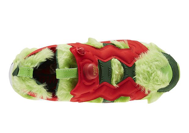 Reebok Instapump Fury Grinch Christmas Colorway