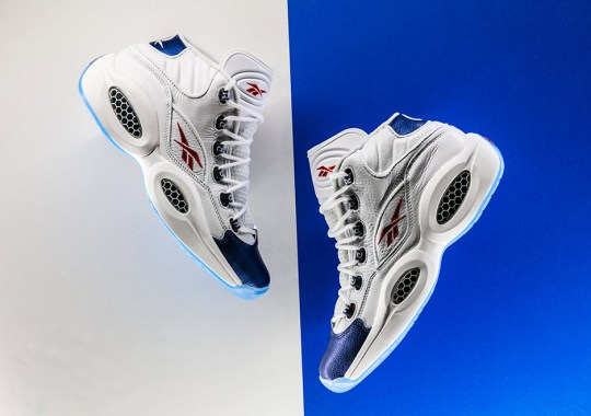 "The OG ""Blue Toe"" Reebok Question Is Available Now"