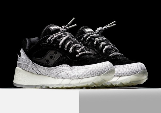 """Saucony Brings Back The """"Dirty Snow"""" Print"""
