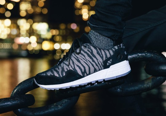 Saucony Gets Wild With the Shadow 5000 Featuring a Reflective Zebra-Striped Upper